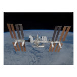 International space station print
