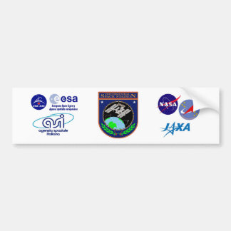 International Space Station Program Logo Bumper Sticker