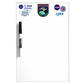 International Space Station Program Logo Dry Erase Board