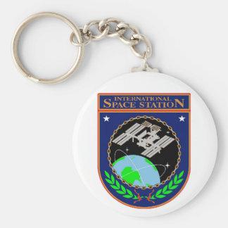 International Space Station Program Logo Keychain