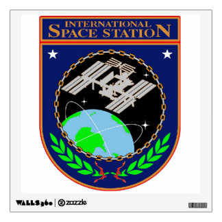 International Space Station Program Logo Wall Decal