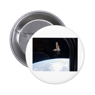 International Space Station -- Seen from Atlantis Buttons