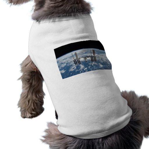 International Space Station -- Seen from Atlantis Doggie T-shirt