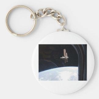 International Space Station -- Seen from Atlantis Keychain