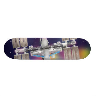 International Space Station Skateboard Deck