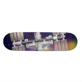 International Space Station Skateboard Deck