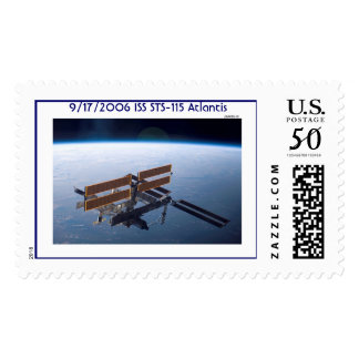 International Space Station / STS-115, 9/17/2006 Postage