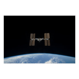 International Space Station (STS-119) Poster