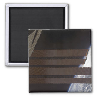 International Space Station's solar array panel 2 Inch Square Magnet