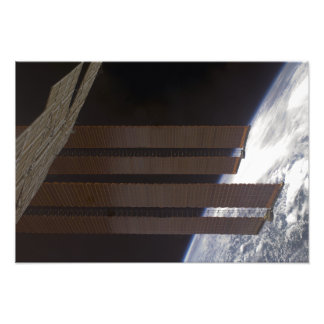 International Space Station's solar array panel Photo Print