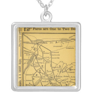 International Steamship Routes, Nova Scotia Silver Plated Necklace