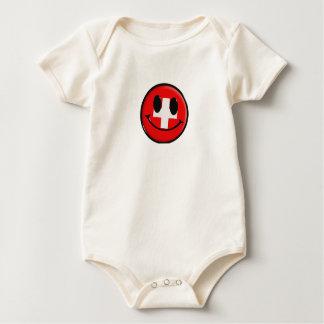 International - Switzerland by SRF Baby Bodysuit