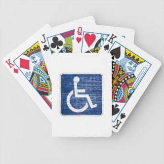 International Symbol of Access Bicycle Playing Cards