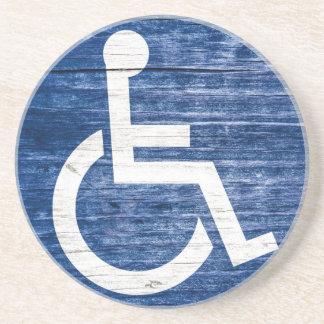 International Symbol of Access Drink Coaster