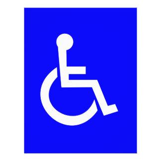 International symbol of access flyer