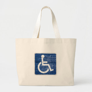 International Symbol of Access Large Tote Bag