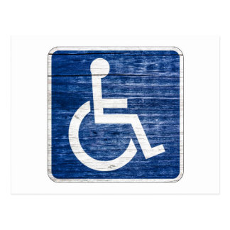 International Symbol of Access Postcard