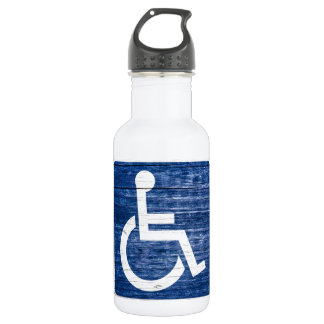 International Symbol of Access Stainless Steel Water Bottle