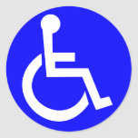 International symbol of access sticker