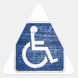 International Symbol of Access Triangle Sticker