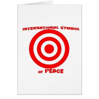 International Symbol of Peace Greeting Card