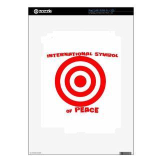 International Symbol of Peace iPad 2 Skin