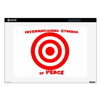 International Symbol of Peace Laptop Skins
