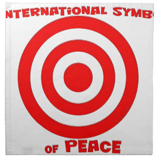 International Symbol of Peace Napkin
