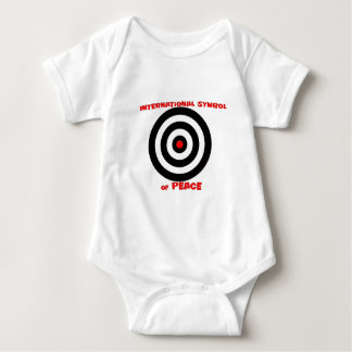International Symbol of peace - Peace On Earth Baby Bodysuit