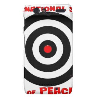 International Symbol of peace - Peace On Earth Motorola Droid RAZR Cases