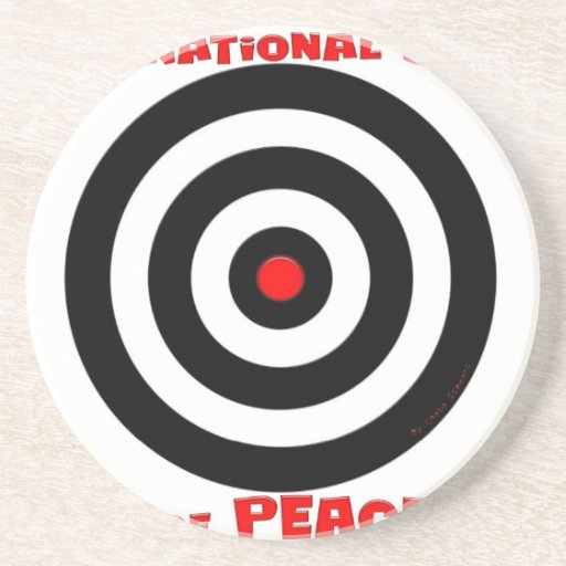 International Symbol of peace - Peace On Earth Drink Coaster