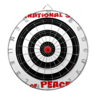International Symbol of peace - Peace On Earth Dartboard
