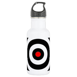 International Symbol of peace - Peace On Earth 18oz Water Bottle
