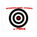 International Symbol of peace - Peace On Earth Post Cards