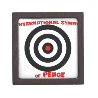 International Symbol of peace - Peace On Earth Premium Trinket Boxes