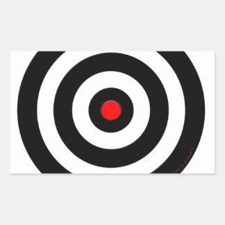 International Symbol of peace - Peace On Earth Rectangular Sticker