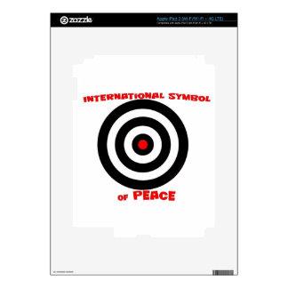 International Symbol of peace - Peace On Earth Skins For iPad 3