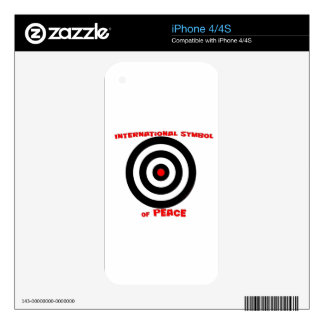 International Symbol of peace - Peace On Earth Skin For The iPhone 4S