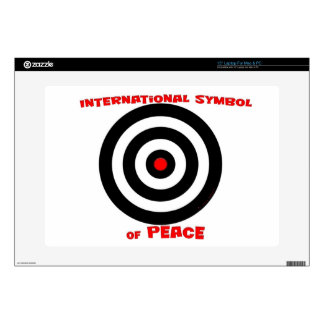 International Symbol of peace - Peace On Earth Skins For Laptops
