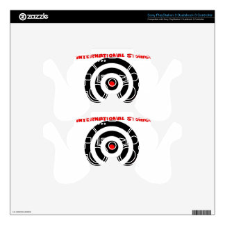 International Symbol of peace - Peace On Earth Decal For PS3 Controller