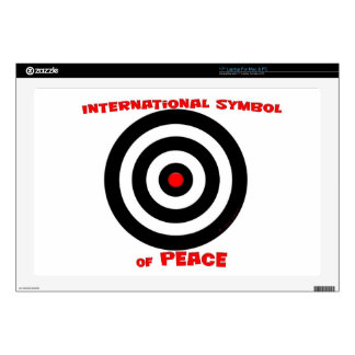 International Symbol of peace - Peace On Earth Laptop Decals