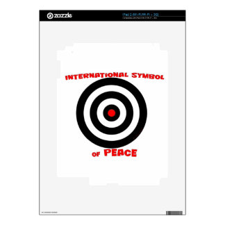 International Symbol of peace - Peace On Earth Decals For iPad 2