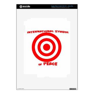International Symbol of Peace Skin For iPad 3