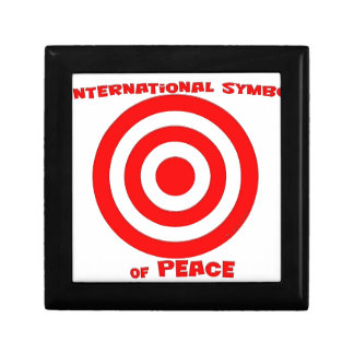 International Symbol of Peace Trinket Boxes