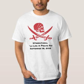 International Talk Like A Pirate Day 2012 T-Shirt