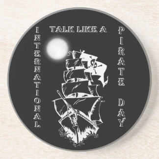 International Talk like a Pirate Day Beverage Coasters