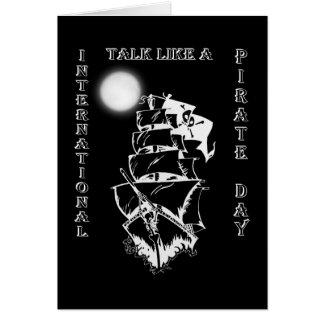 International Talk like a Pirate Day Greeting Card