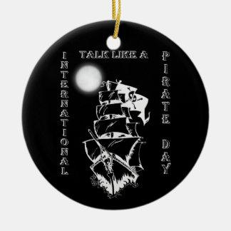 International Talk like a Pirate Day Christmas Ornaments