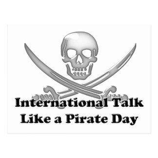 International Talk Like a Pirate Day Postcard