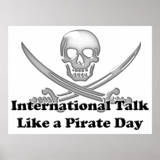 International Talk Like a Pirate Day Poster